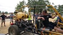 THE DRAGSTER DOES (BABY) WHEELIES! | 50HP 670cc Drag Rail Kart