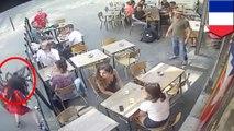 パリの街中でストリートハラスメント 被害者女性が自ら動�
