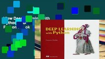 View Deep Learning with Python Ebook Deep Learning with Python Ebook