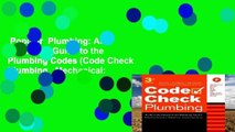 Popular  Plumbing: An Illustrated Guide to the Plumbing Codes (Code Check Plumbing   Mechanical: