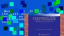 Best ebook  Clearing the Last Hurdle: Mapping Success on the Bar Exam (Academic Success) Complete