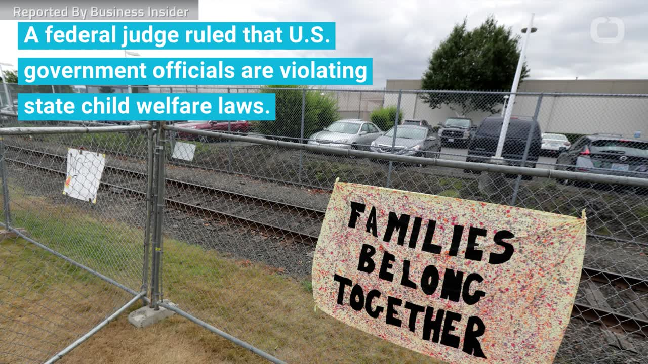 Judge Rules That Government Is Violating State Child Welfare Laws