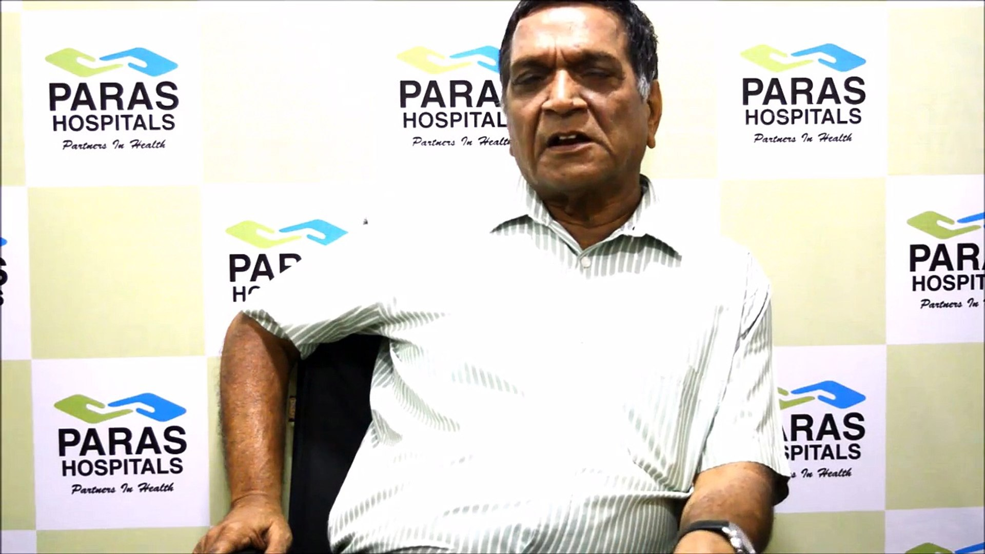 #ParasHospital -Patient Testimonial - Transparent & Honest Emergency Care Services - Paras Hospi