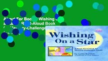 About For Books  Wishing on a Star: A Read-Aloud Book for Memory-Challenged Adults (Two-Lap