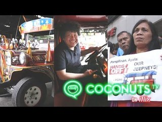 Battle for the historic war car in the Philippines  | JEEPNEY JAM | COCONUTS TV ON IFLIX