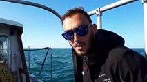 La Manche à la nage : visite du bateau de la traversée !