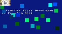 Unlimited acces Development as Freedom Book