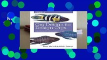 New Releases Org Design for Design Orgs Complete