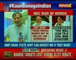 Didi vs Shah: NRC war of words between Amit Shah and Mamata Banerjee
