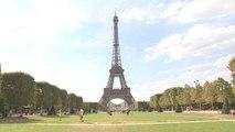 La Tour Eiffel est fermée aux touristes - 02/08/2018
