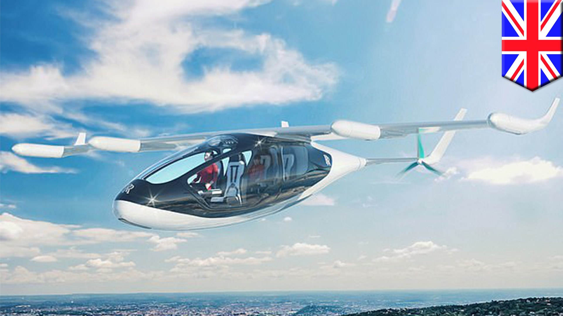 Rolls-Royce develops flying taxis that could be in the skies by 2020