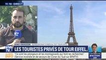 """Tour Eiffel fermée : la CGT parle d'une réouverture """"au plus vite"""" sans donner de date"""