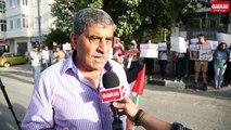 وقفة برام الله تدعو لرفع العقوبات عن القطاع#فلسطين
