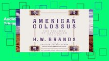 AudioEbooks American Colossus: The Triumph of Capitalism, 1865-1900 Unlimited
