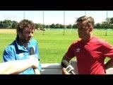 Soccer Aid: Robbie Williams & Michael Sheen