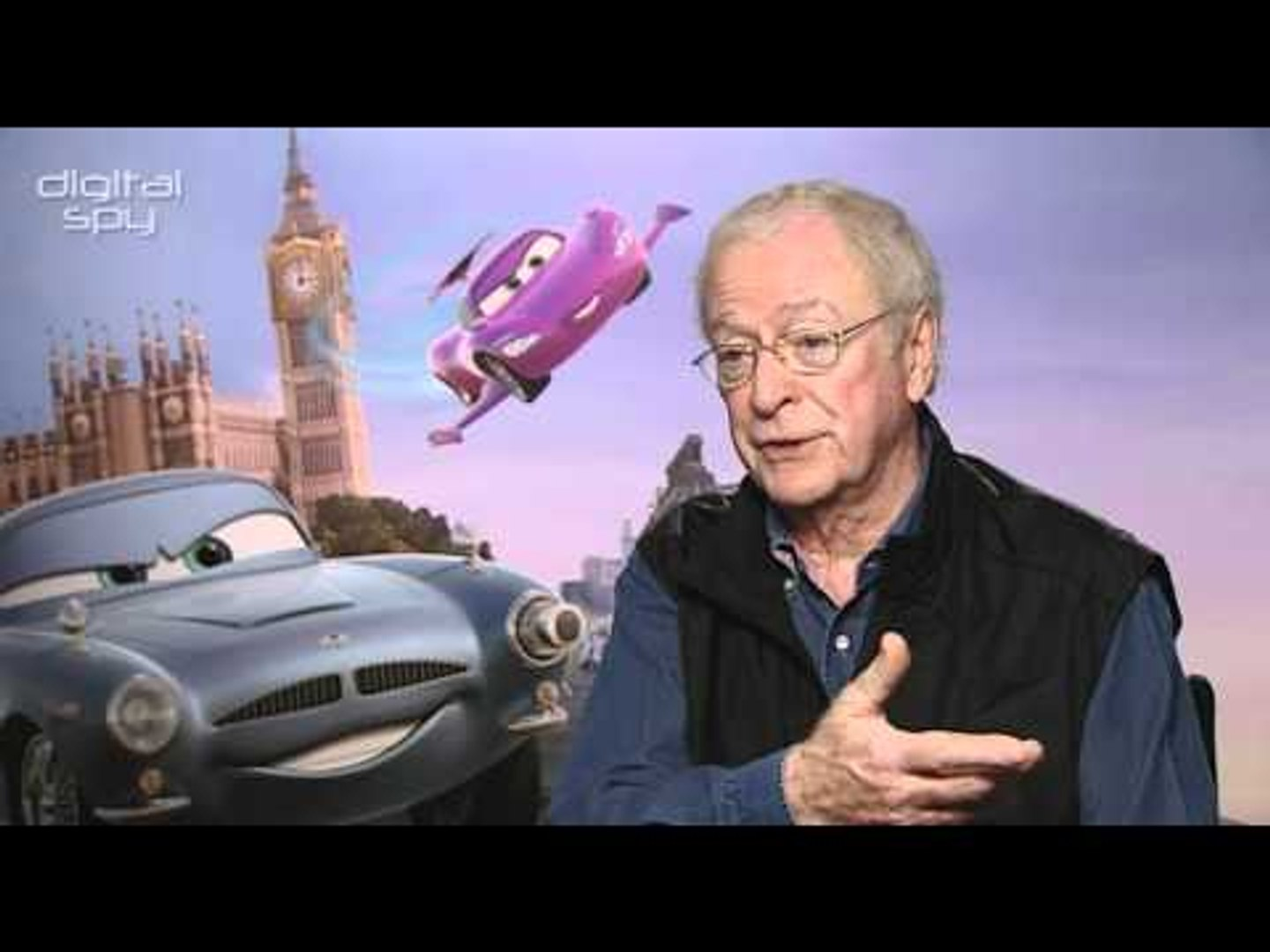 Michael Caine chats 'Cars 2' and impressions