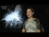 Marion Cotillard 'The Dark Knight Rises' Interview