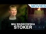 Mia Wasikowska and Matthew Goode on 'Stoker'
