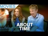 'About Time' Rachel McAdams & Domhnall Gleeson interview
