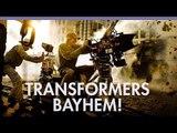 Transformers stars on 'Bayhem' & Transformers 5