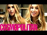 Whitney Port interview backstage of Olay photoshoot 2013
