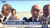 """Bagarre Booba-Kaaris : """"Si deux rappeurs peuvent éviter de provoquer un embouteillage dans tout un aéroport, ce serait bien"""", réagit Gérard Collomb"""