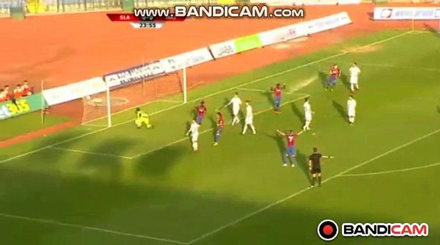 Goal Juric S. (0-1) Slavia Sofia  vs Hajduk Split