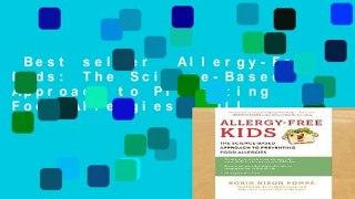 Best seller Allergy Free Kids The Science Based Ap
