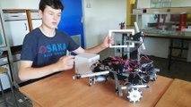Mons: des jeunes au concours de robotique First Global (2)
