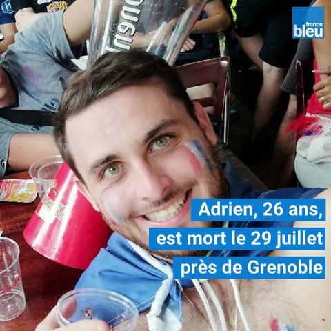 """Adrien, tué devant une boîte de nuit en Isère : """"C'est impardonnable"""", le cri de douleur de sa mère"""
