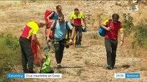 Canyoning : crue meurtrière en Corse
