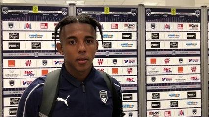 La réaction de Jules Koundé après Bordeaux-Ventspils
