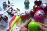 26 Surprise Eggs, Kinder Surprise Cars Monsters University Disney Shrek Mickey S