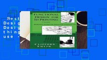 Best ebook  Functional Design for 3D Printing: Designing 3d printed things for everyday use - 3rd