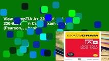 View CompTIA A+ 220-901 and 220-902 Exam Cram (Exam Cram (Pearson)) Ebook