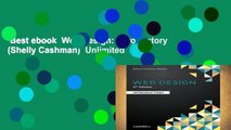 Best ebook  Web Design: Introductory (Shelly Cashman)  Unlimited
