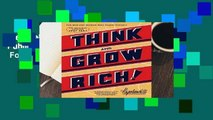 New Releases Think and Grow Rich (Official Publication of the Napoleon Hill Foundation)  For