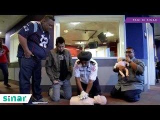 Geng Pagi Di Sinar Belajar CPR Bersama Encik Parmjit Singh