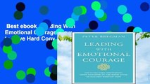 Best ebook  Leading With Emotional Courage: How to Have Hard Conversations, Create
