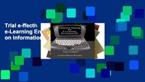Trial e-ffective Writing for e-Learning Environments (Cases on Information Technology) Ebook