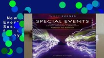New Releases Special Events: Creating and Sustaining a New World for Celebration (The Wiley Event