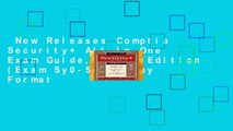 New Releases Comptia Security+ All-In-One Exam Guide, Fifth Edition (Exam Sy0-501)  Any Format