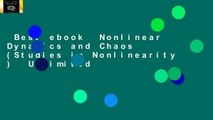 Best ebook  Nonlinear Dynamics and Chaos (Studies in Nonlinearity )  Unlimited