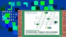 About For Books  Introduction to Strategic Public Relations: Digital, Global, and Socially