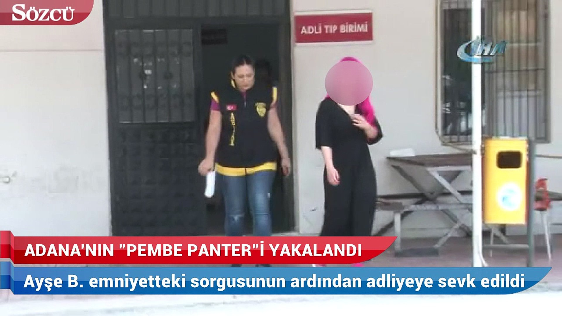 'Pembe Panter Ayşe' yakalandı
