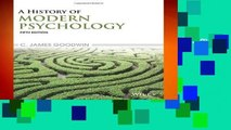 About For Books  History Of Modern Psychology 5e  For Full