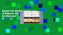 Ebook The Wealth and Poverty of Nations: Why Some Are So Rich and Some Are So Poor Full
