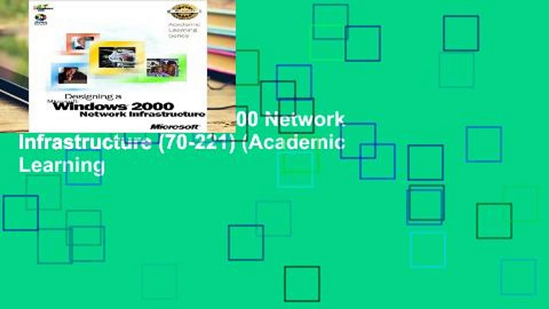 Examinsight for Designing a Microsoft Windows 2000 Network Infrastructure Examination 70-221