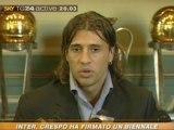 Hernan Crespo e dell'Inter
