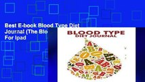Best E-book Blood Type Diet Journal (The Blokehead Journals) For Ipad